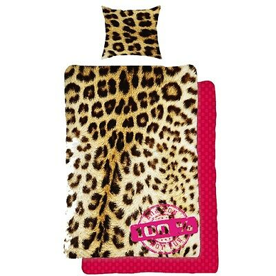 Leopard Print Single Duvet