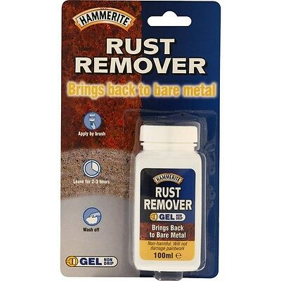 100ml Hammerite Rust Remover Gel - Metal Protection Prevention