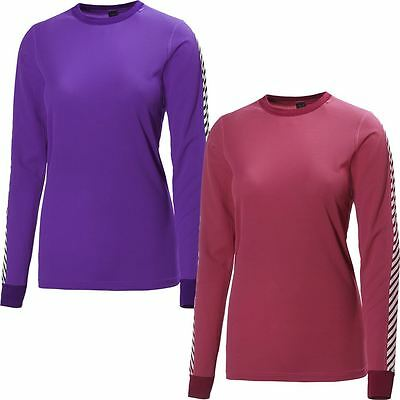 2017 Helly Hansen Ladies Dry Original Womens Crew Neck Shirt LS Baselayer