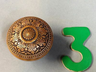 Antique Vintage Bronze Russell And Erwin 1870's Ornate Door Knob Lot 3