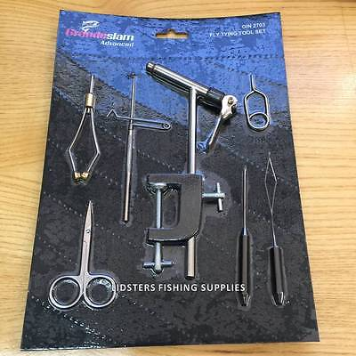 New Fly Tying Tool Kit For Fly Fishing Flies All Tools Included Tying Vice Tools