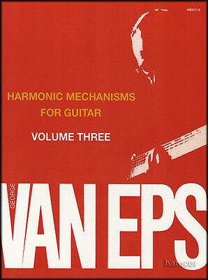 Harmonic Mechanisms for Guitar Volume 3 George Van Eps Jazz Music Book