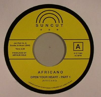 """AFRICANO - Open Your Heart Part 1 - Vinyl (limited 7"""")"""