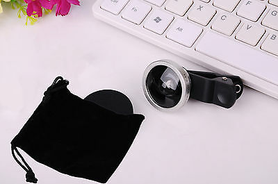 Universal Super Wide Angle 0.4X Zoom Lens for Cell Phone iPhone Camera iPad New