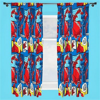 Spiderman Webhead Curtains - 72 Inch
