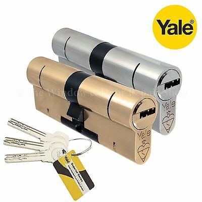 YALE Superior Euro Cylinder Lock Anti Snap Bump High Security uPVC Door Barrel