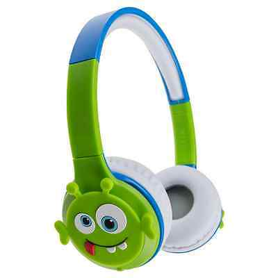 My Doodles Children's Rechargeable Wireless Bluetooth Headphones Alien Ddalibthp