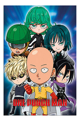 Maxi Size 36 x 24 Inch Attack On Titan Chibi Characters Poster New