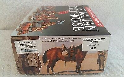 """King And Country Australian Light Horse """" Heliograph Set""""  Al030"""