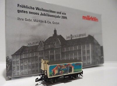 Very Rare New *2009 Toy Fair Only Issue* Marklin Z Gauge Wagon Rolling Stock