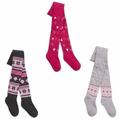 Girls Tick Tock Cotton Rich Baby Design Tights Style - 45B115