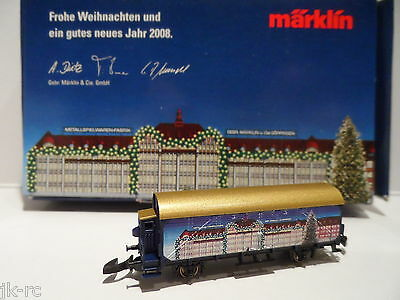 Very Rare New *2008 Toy Fair Only Issue* Marklin Z Gauge Wagon 50mm