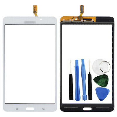 """Replacement Touch Screen Glass Digitizer Galaxy Tab 4 7"""" T230 + Tools White"""