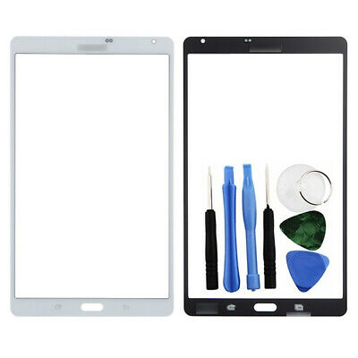 White Front Glass Touch Digitizer Part for Samsung Galaxy Tab S 8.4 T700 + Tools