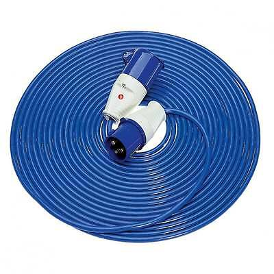 14 Metre 32 Amp 230 Volt 4mm Extension Cable Generator Lead 240 V Power Hook Up