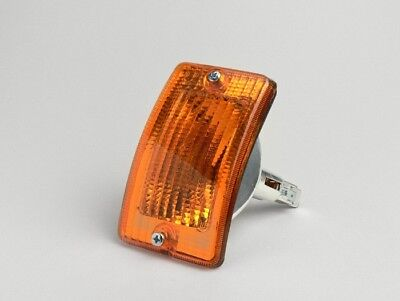 Blinker ORIGINAL PIAGGIO Vespa PK 50 80 125 XL vorne links Front Glas Orange