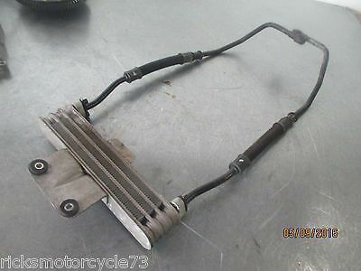 Suzuki GS500F GS 500 F Engine Motor Oil Cooler Assembly w/ Lines