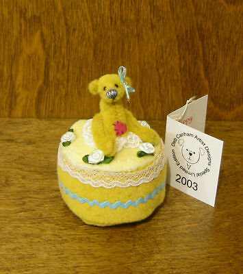 """DEB CANHAM Artist Designs HAPPY BIRTHDAY, Gift Coll, 3""""  NEW From Retail Store"""