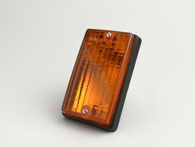 Blinker ORIGINAL PIAGGIO Vespa PK 50 80 125 S hinten links Orange Verkleidung