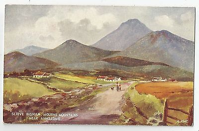 northern ireland postcard ulster irish art near annalong