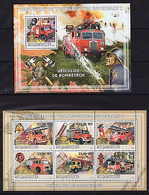 Mozambique 2009- Firefighters/Special Transport  MNH (A101)-7