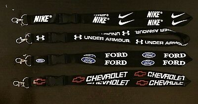 Keychain Lanyard *chevrolet, Ford, Under Armour, Nike