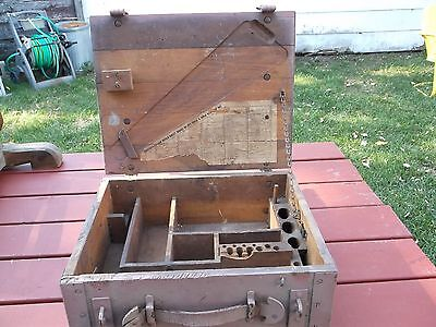 US Military Arm Repair Chest for US Rifle Model of 1917  Partial Contents List