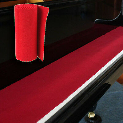 Red Soft Nylon &Cotton Dust Cover Cloth for Piano Key Keyboard Cover Practical