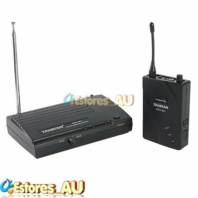 【AU】TAKSTAR WGV-601 Guitar Bass Wireless System Audio Transmitter Receiver Kit