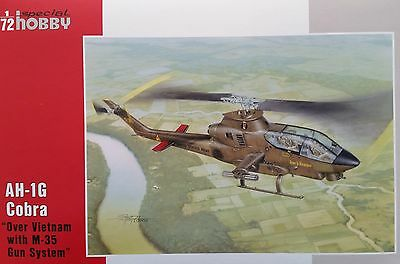 "SPECIAL HOBBY 72076  AH-1G Cobra ""Over Vietnam w/M-35 Gun System"" in 1:72"