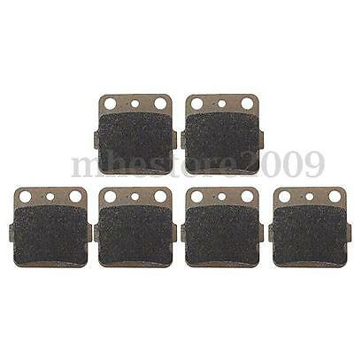 Motorcycle Front Rear Brake Pads For Honda TRX 250X 300X 300EX 400EX 400X