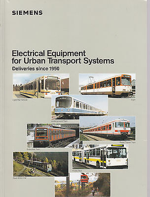 Siemens Electrical Equipment for Urban Transport Systems / Prospekt
