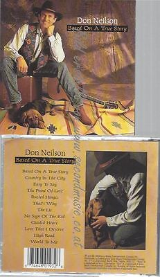 Cd--Neilson,don--Based On A True Story | Cd