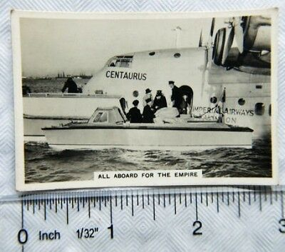 1938 Senior Service Flying no. 45 All Aboard for Empire