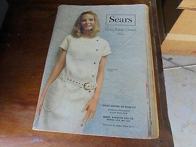 Vintage 1968 Sears Spring and Summer  Catalog