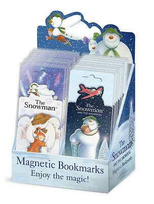 The Snowman and The Snowdog Magnetic Bookmarks