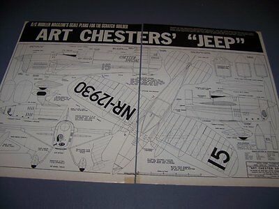 "Vintage...art Chester ""chester Special"" ..4-Views/specs...rare! (751J)"