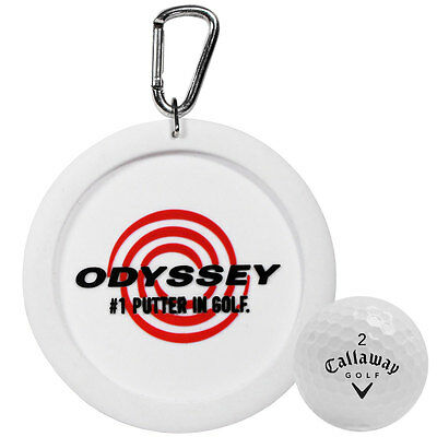 Callaway Golf 2016 Odyssey Putt Practice Target Trainer Training Aid - White