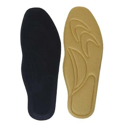 Pair Orthotic Arch Support Massage Insole Cushion Pads Foot Pain Relief EU 44-45