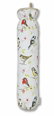 Cooksmart Dawn Chorus Carrier Bag Saver Holder Tidy Garden Bird Recycle Storage