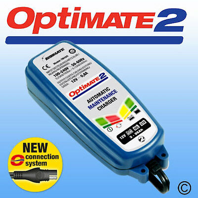 High Quality Optimate 2 12V 0.8 Amp Charge Rate Battery Charger