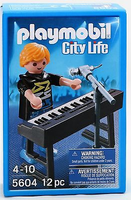 Playmobil 5604 City Life Keyboarder mit Mikrofon NEU / OVP