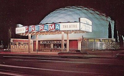 Vtg 1960-1970's Hollywood Pacifics Cinerama (Arc Light) CALIFORNIA Photo