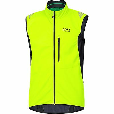 POWER WINDSTOPPER® SOFT SHELL THERMO CYCLING VEST in Hi Vis Yellow by Gore