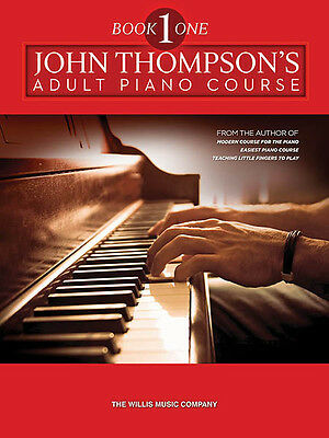John Thompson's Adult Piano Course Book 1 Beginner Music Lessons Book NEW
