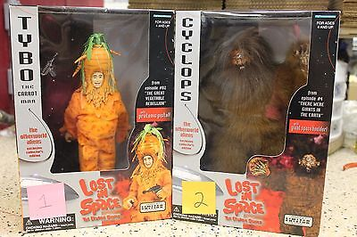 Lost In Space 10in Cyclops and Tybo Figures