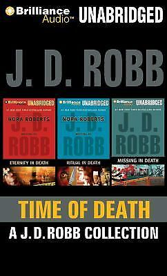 Time of Death by J. D. Robb  (Unabridged Audiobooks on CDs)