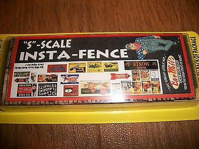 Bar Mills S  Scale  Insta-Fence Kit  # 043 Bob The Train Guy