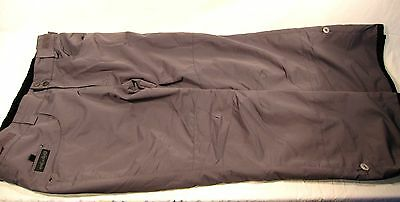 Planet Earth Men's Technical Waterproof Snow Pants Grey XL