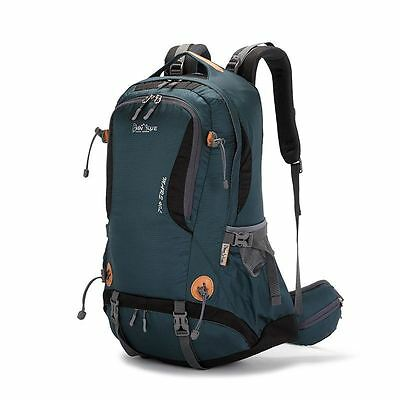 40L PANYUE Rucksack Mountaineering Travel Backpack Outdoor Bag Deep Green